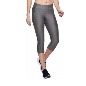 Under Armour compression cropped pattern leggings
